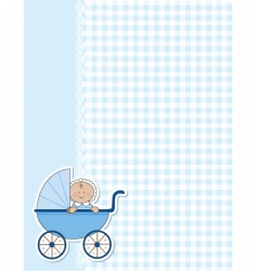 baby boy background vector image