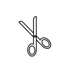 scissors icon vector image vector image