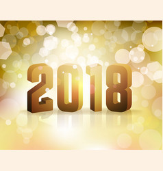 2018 new years eve concept vector