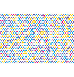 background composition of colorful dots vector image