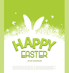 Background for easter template for brochure vector