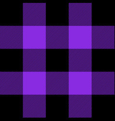 Buffalo plaid proton purple tartan scottish cage vector