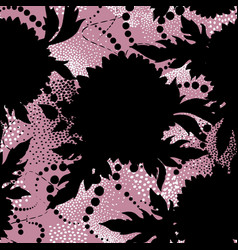 floral seamless pattern abstract ornamental vector image
