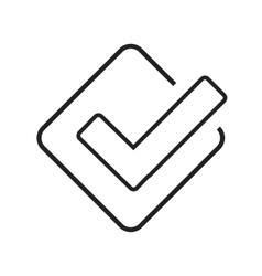 Foursquare vector image