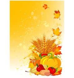 harvesting design vector image