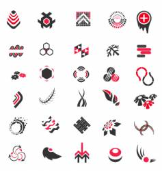 logo collection vector image vector image