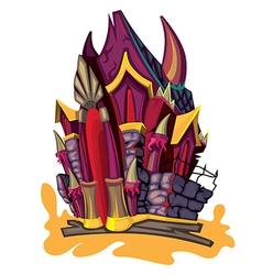Davil castle vector