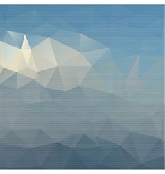 Abstract background with colored triangles vector image