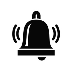 Bell Icon vector image