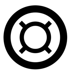 Computer symbol any currency icon black color in vector