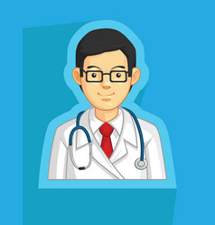 Medical doctor general practitioner physician vector