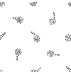 Pneumonia alveolus pattern seamless vector