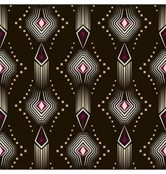 Seamless beautiful antique art deco pattern vector image vector image