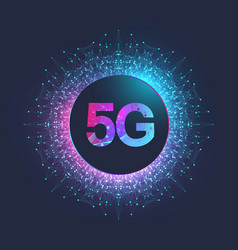 5g network wireless systems and internet vector