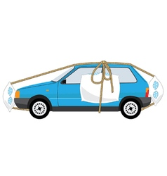 auto insurance vector image