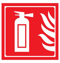 fire-extinguisher 2 vector image