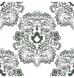 Floral pattern in Oriental style vector image