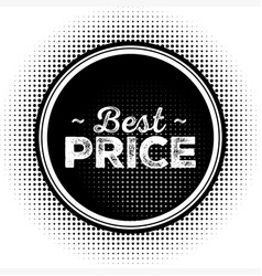 Hot sale black badge with grunge texture vector