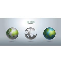 Stereo earth figure vector
