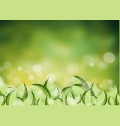 environmental background vector image vector image