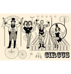 Circus star vector