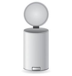 dustbin 05 vector image vector image