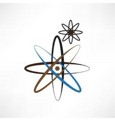 a symbolic representation of the molecule vector image