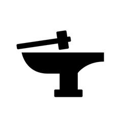 Anvil icon vector