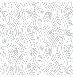 topographic line abstract seamless pattern vector image