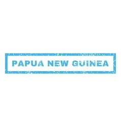 Papua New Guinea Rubber Stamp vector image vector image