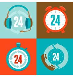 24hour vector image