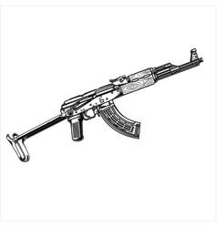 Akm 74 tactical vector