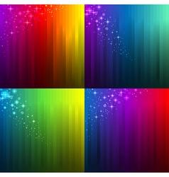 background gradient set vector image