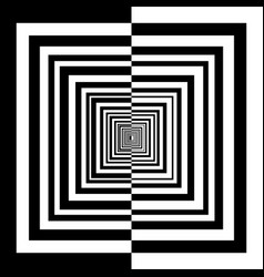 Black and white squares ilustration vector
