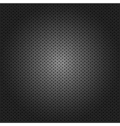 Carbon corduroy grid black background vector