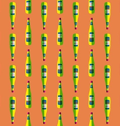 pop art liquor bottle seamless pattern vector image vector image