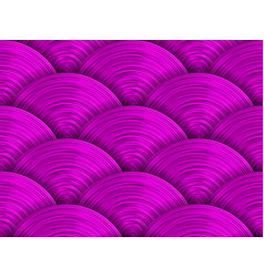Saturated purple pink disks seamless pattern vector