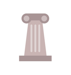 Temple column icon vector