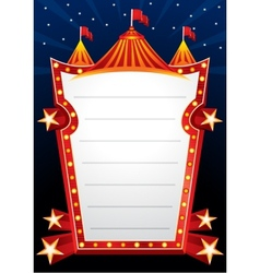 Circus design vector