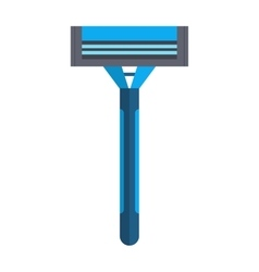 Shaving razor isolated on a white background With vector image