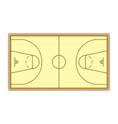 A field for Basketball vector