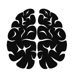 Brain neurons icon simple style vector