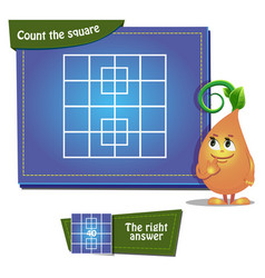 Count the squares game 5 vector