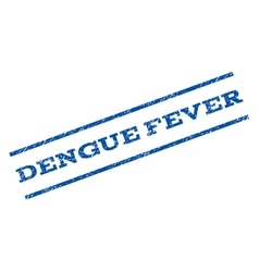 Dengue Fever Watermark Stamp vector