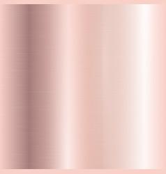 Gradient of rose gold vector