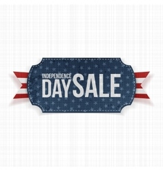 Independence Day Sale national Label vector image