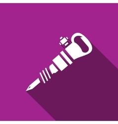 Jackhammer icon vector image