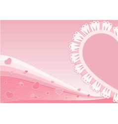greeting card vector image