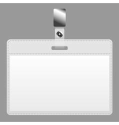 Blank badge vector image