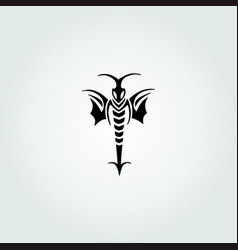 Bee stinger vector